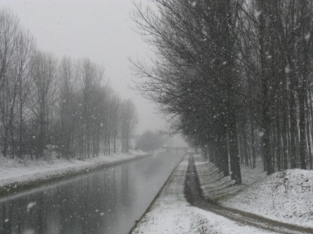 Neve sul canale