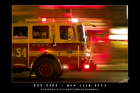 RED FIRE - New York 2005